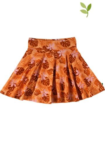 Fred´s World by GREEN COTTON Spódnica w kolorze pomarańczowym