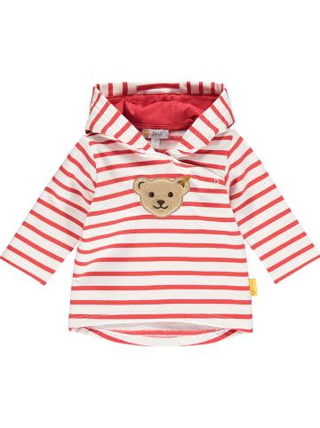 Steiff Bluza w kolorze czerwonym