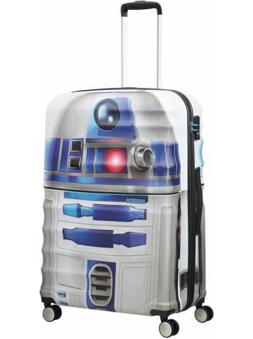 """American Tourister Walizka """"Star Wars R2D2"""" w kolorze szaro-niebieskim - 52 x 77 x 29 cm"""