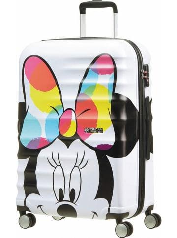"""American Tourister Walizka """"Minnie"""" w kolorze białym ze wzorem - 47 x 67 x 26 cm"""