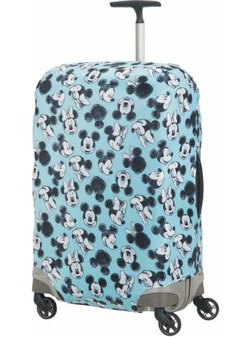 """Samsonite Pokrowiec """"Mickey Mouse M"""" w kolorze turkusowym na walizkę"""