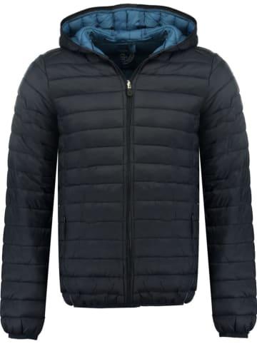 "Canadian Peak Doorgestikte jas ""Daypeak"" donkerblauw"
