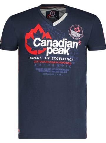 """Canadian Peak Shirt """"Jommando"""" donkerblauw"""