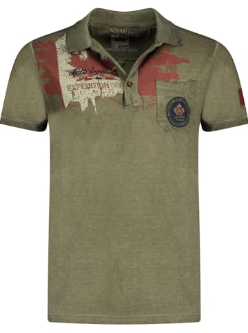 "Canadian Peak Poloshirt ""Kameak"" kaki"