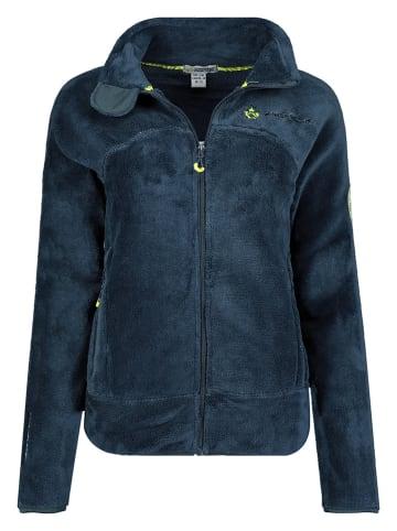 """Canadian Peak Fleece vest """"Udilas"""" donkerblauw"""