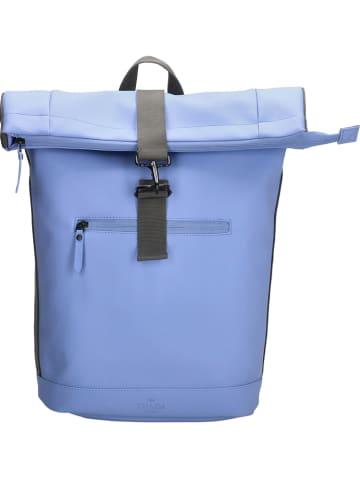 CHARM LONDON Plecak w kolorze jasnoniebieskim - 38 x 40 x 11 cm