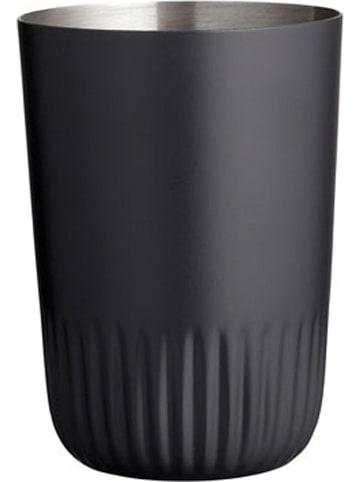"Soedahl Tandenborstelhouder ""Plissé"" zwart - (H)11 x Ø 6 cm"