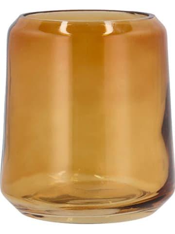 "Soedahl Tandenborstelhouder ""Vintage"" oranje - (H)11,3 x Ø 10 cm"