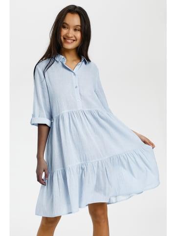 "Kaffe Sukienka ""Vivian"" w kolorze błękitnym"
