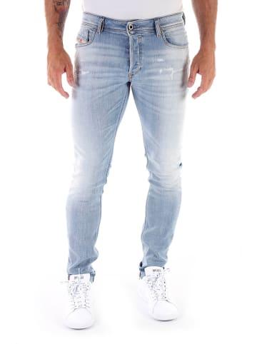 "Diesel Clothes Spijkerbroek ""Sleenker"" - slim skinny fit - lichtblauw"