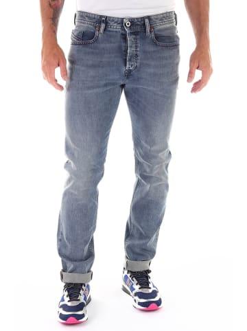 """Diesel Clothes Jeans """"Buster"""" - Regular Slim Tapered fit - in Hellblau"""