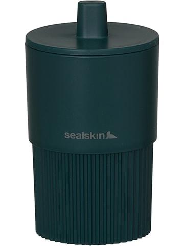 """Sealskin Opbergpot """"Brave"""" petrol - (H)13,5 x Ø 7,5 cm"""