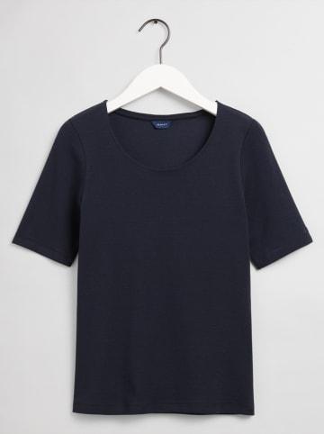Gant Koszulka w kolorze granatowym