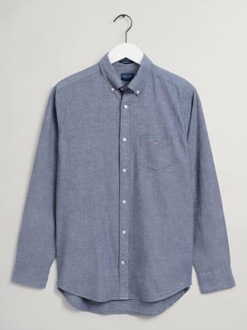 Gant Linnen blouse blauw
