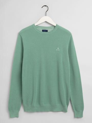 Gant Sweter w kolorze jasnozielonym