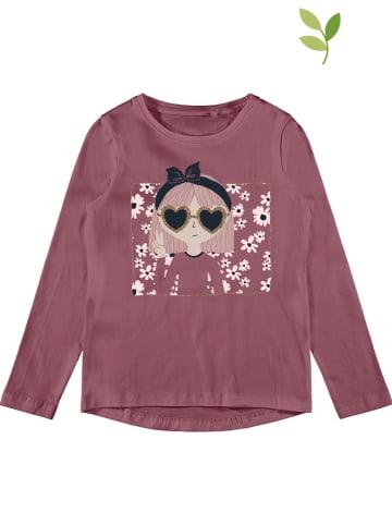 """Name it Koszulka """"Vix"""" w kolorze fioletowym"""