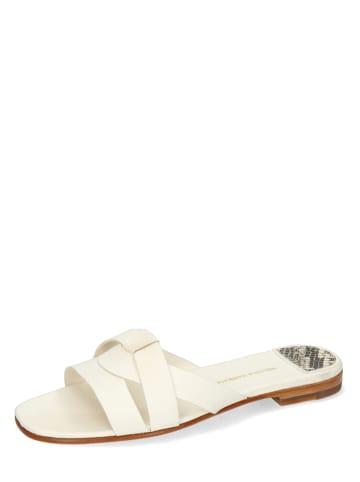 "MELVIN & HAMILTON Leren sandalen ""Elodie 40"" wit"