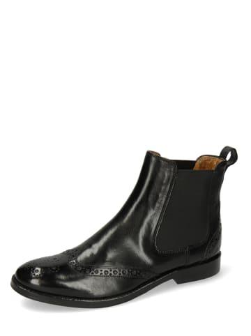 "MELVIN & HAMILTON Leder-Chelsea-Boots ""Amelie 5"" in Schwarz"
