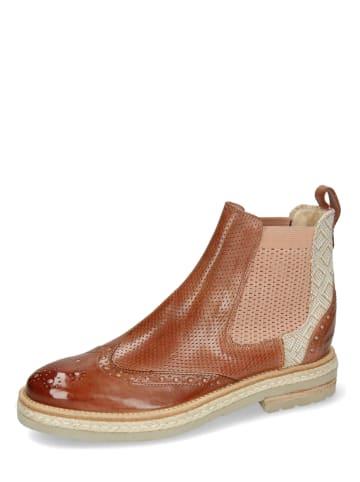 "MELVIN & HAMILTON Leder-Chelsea-Boots  ""Amelie 5"" in Braun"