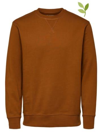"SELECTED HOMME Sweatshirt ""Jason"" camel"
