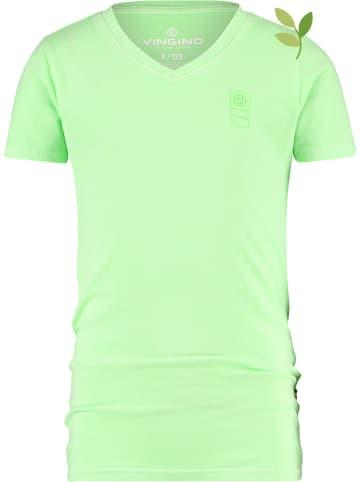 Vingino Koszulka w kolorze zielonym