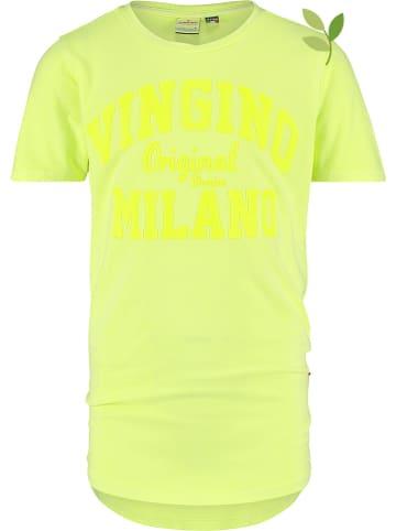 Vingino Koszulka w kolorze żółtym