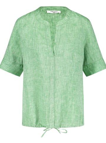 Gerry Weber Linnen blouse lichtgroen