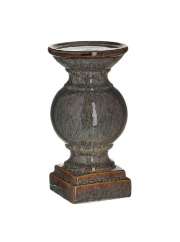 InArt Kerzenständer in Lila - (H)24,5 x Ø 13 cm