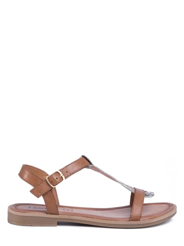 Lasocki Leren sandalen bruin