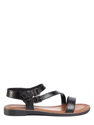 Lasocki Leren sandalen zwart