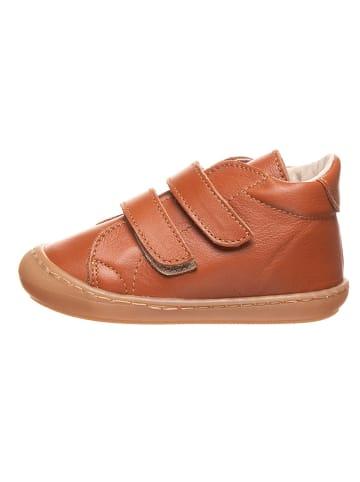 Kmins Leder-Sneakers in Camel
