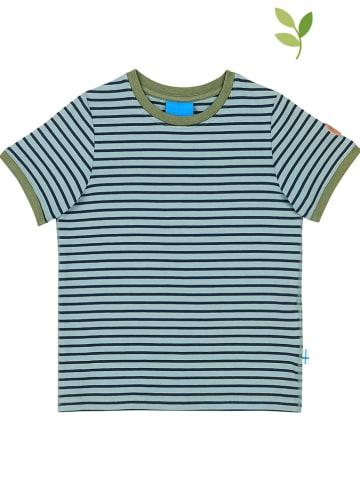 "Finkid Koszulka ""Renkaat"" w kolorze turkusowym"