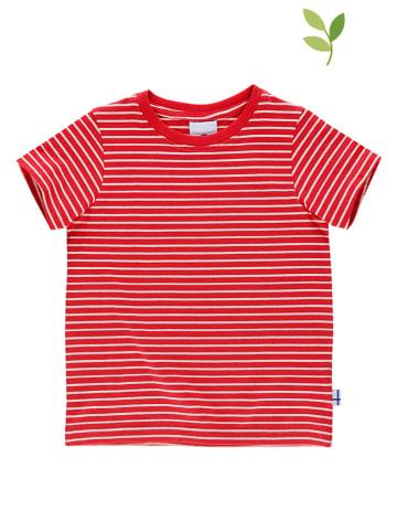 """Finkid Koszulka """"Supi"""" w kolorze czerwonym"""