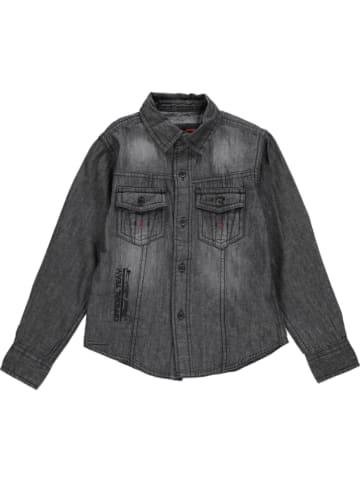 RG512 Koszula dżinsowa w kolorze antracytowym