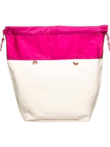 """O Bag Innentasche """"O Bag Mini"""" in Pink/ Weiß - (B)29 x (H)31 x (T)12 cm"""