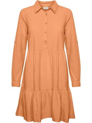 """Kaffe Sukienka """"Naya"""" w kolorze pomarańczowym"""