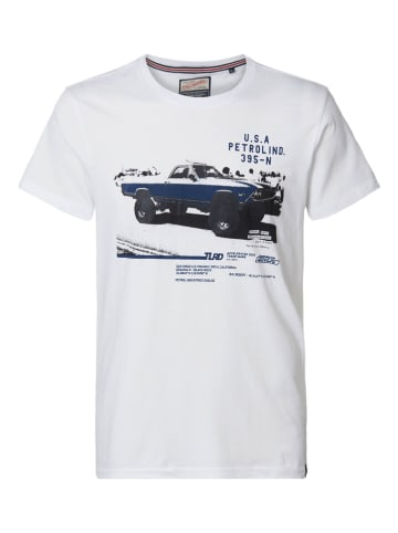 Petrol Industries Koszulka w kolorze białym