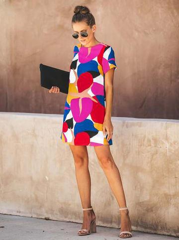 Coconut Sunwear Sukienka ze wzorem