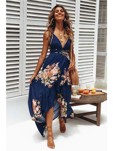 Coconut Sunwear Sukienka w kolorze granatowym