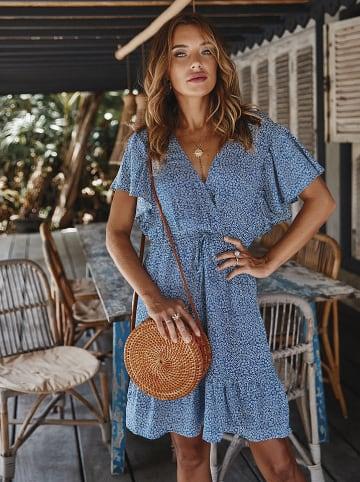 Coconut Sunwear Sukienka w kolorze niebieskim