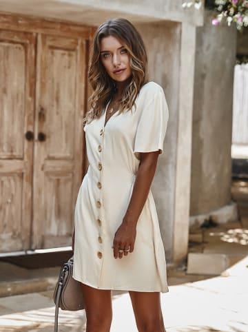 Coconut Sunwear Sukienka w kolorze kremowym