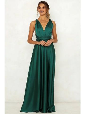 Coconut Sunwear Sukienka w kolorze zielonym