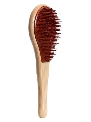 Herbaliste Haarbürste in Beige/ Rot