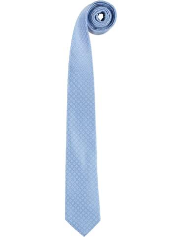 Strellson Seiden-Krawatte in Hellblau