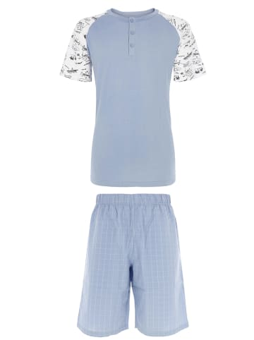 COTONELLA Pyjama lichtblauw
