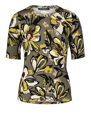 Betty Barclay Koszulka w kolorze oliwkowo-żółtym