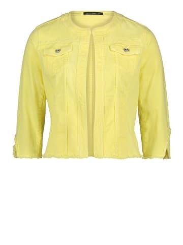 Betty Barclay Kurtka dżinsowa w kolorze żółtym