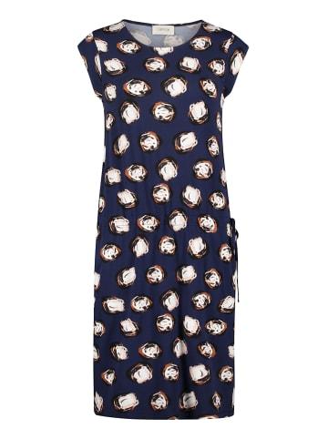 CARTOON Sukienka w kolorze granatowo-beżowym