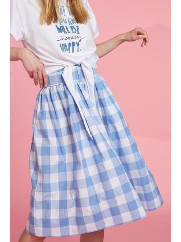 More & More Spódnica w kolorze błękitnym