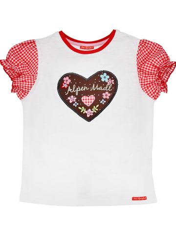 "Bondi Shirt ""Alpine Meisje"" wit"